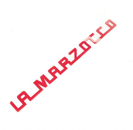 LA MARZOCCO 1991 CUSTOM 250mm ACRYLIC LOGO (RED)